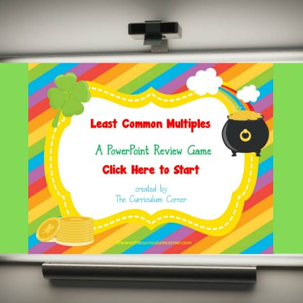 LCM PowerPoint feature