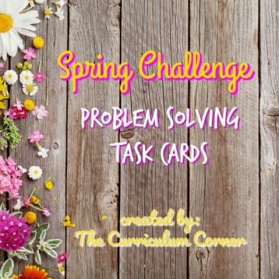 Spring Challenge Problem Solving