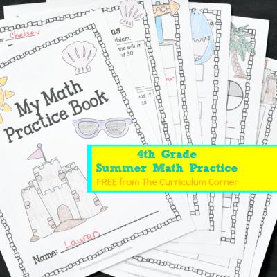 4th Grade Summer Math Booklet