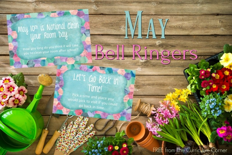 This free collection of May bell ringers has been created to help you create a simple and engaging morning routine.