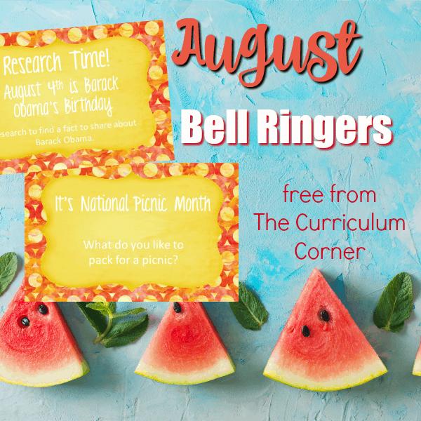 August Bell Ringers