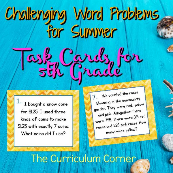 Summer Challenge Problem Solving