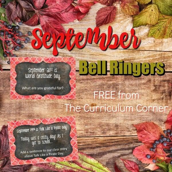 September Bell Ringers