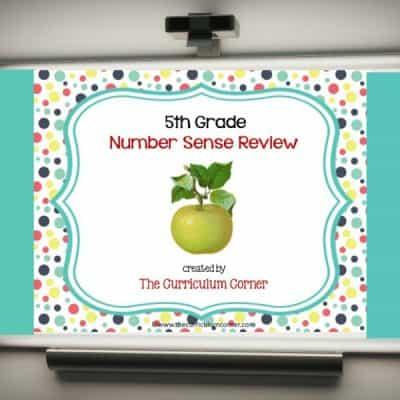 Review Game: 5th Grade Number Sense