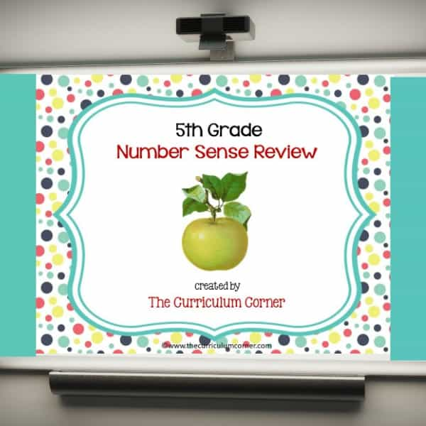 Review Game: 5th Grade Number Sense