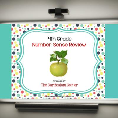 Review Game: 4th Grade Number Sense