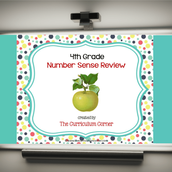 Review Game: 4th Grade Number Sense