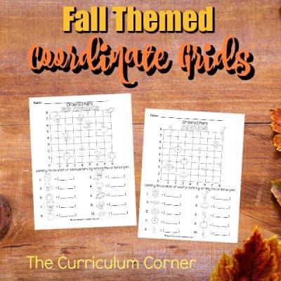 Fall Coordinate Grids