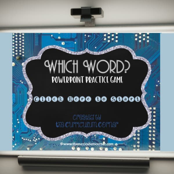 Commonly Confused Words PowerPoint Game