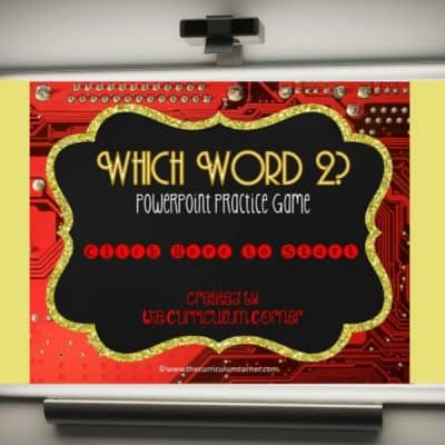 More Commonly Confused Words PowerPoint Game