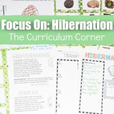 Hibernation Materials for Teachers