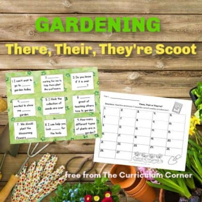 Gardening There, Their, They're Scoot