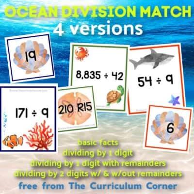 Ocean Division Match (many skills)