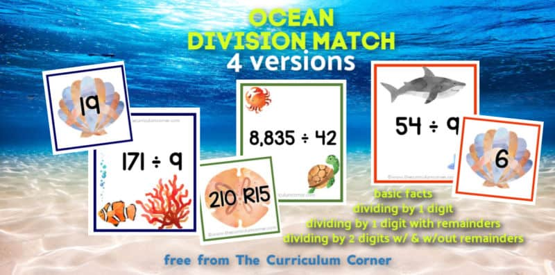 Ocean Division Match Centers