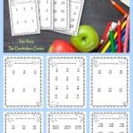 Subtraction with regrouping worksheets