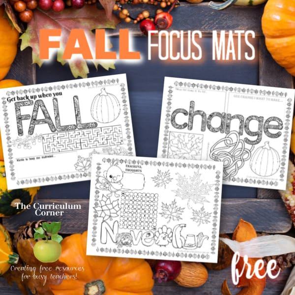 Fall Focus Mats