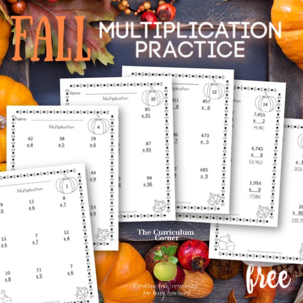 Computation Pages: Fall Multiplication