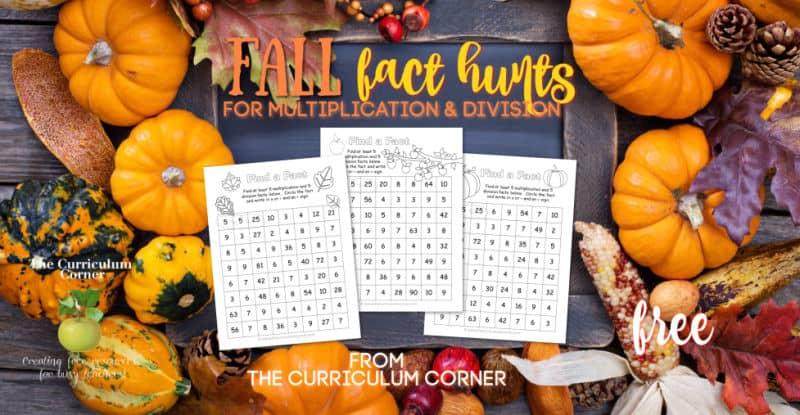 Fall Fact Hunt