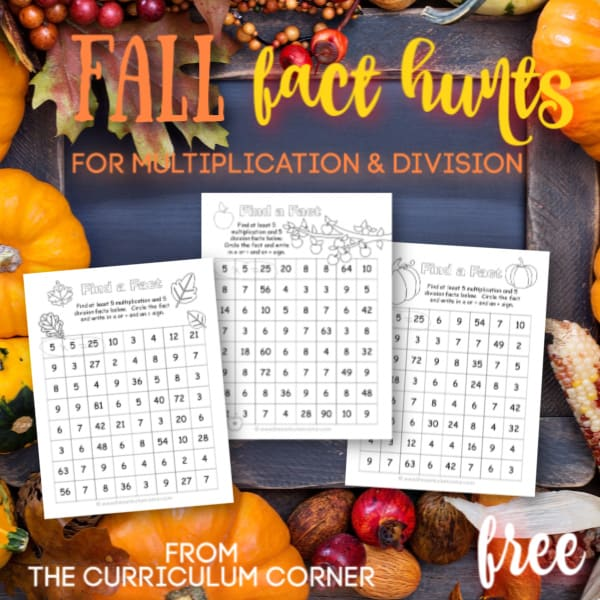 Fall Fact Hunt