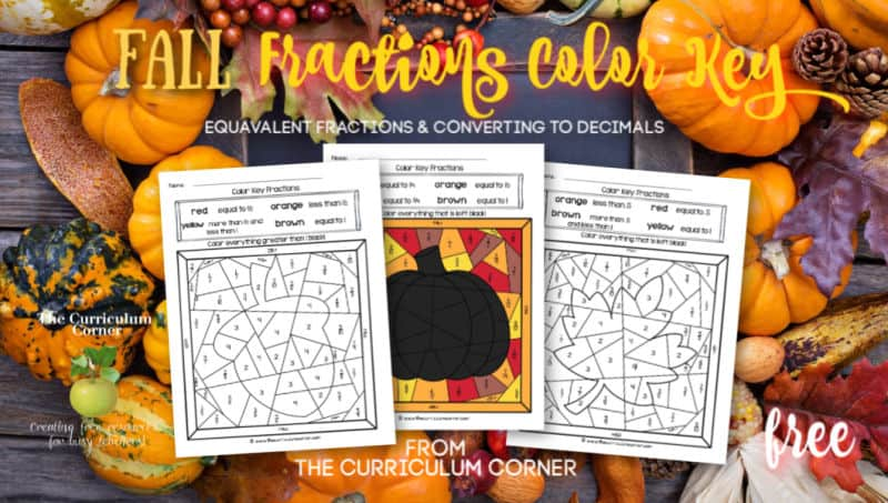 Fall Color Key Fractions