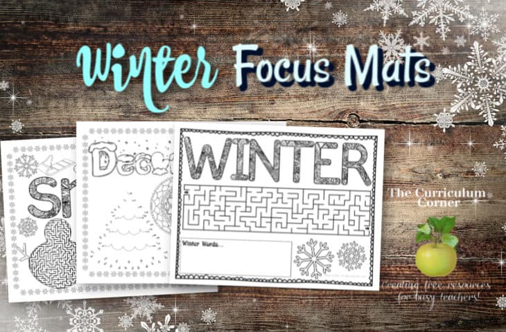 winter focus mats