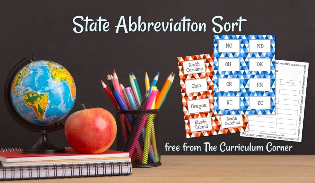 State Abbreviation Sort