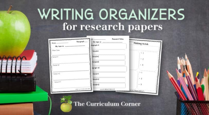 organizers for research papers