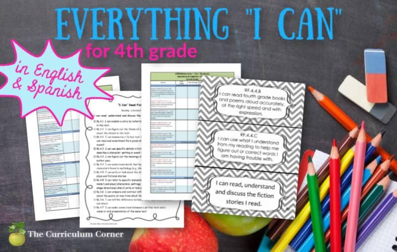 4th Grade I Cans