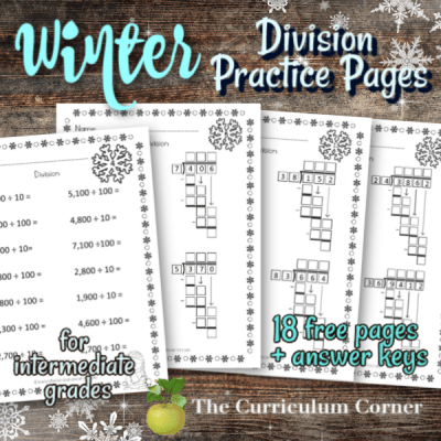Computation Pages: Winter Division