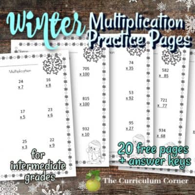 Computation Pages: Winter Multiplication