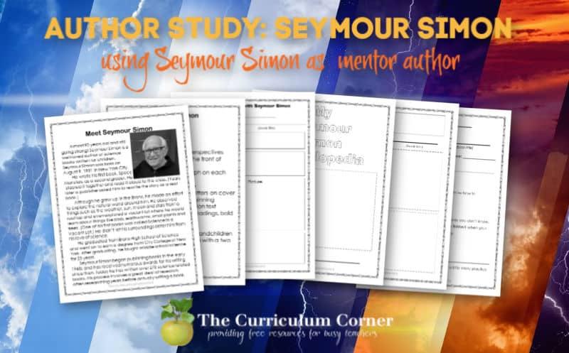 Seymour Simon Author Study