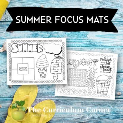 Summer Focus Mats