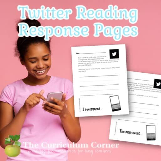 Twitter Reading Response Pages