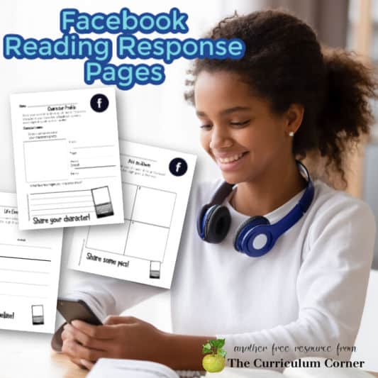 Facebook Reading Response Pages