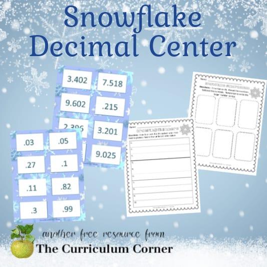 Snowflake Decimal Center