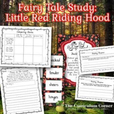 Fairy Tale Study: Little Red Riding Hood
