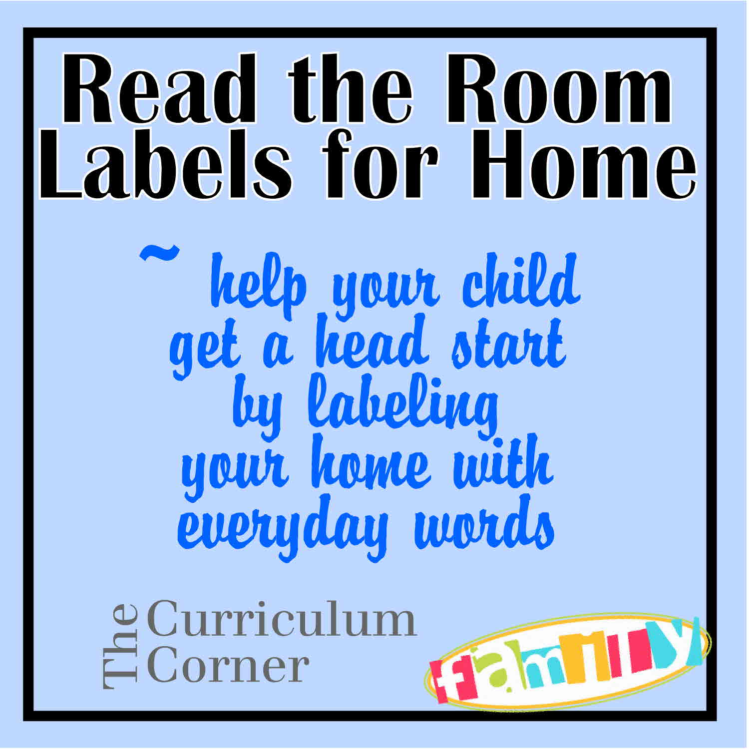 Read the room at home for Room labels