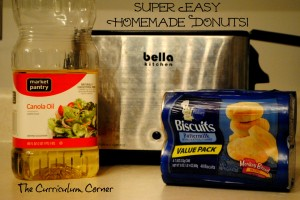 Easy Homemade Donuts by The Curriculum Corner
