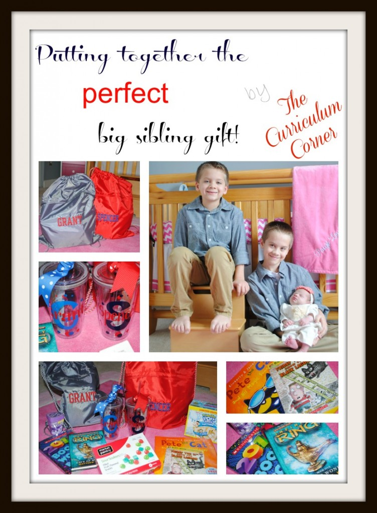 Putting Together the Perfect Big Sibling Gift by The Curriculum Corner
