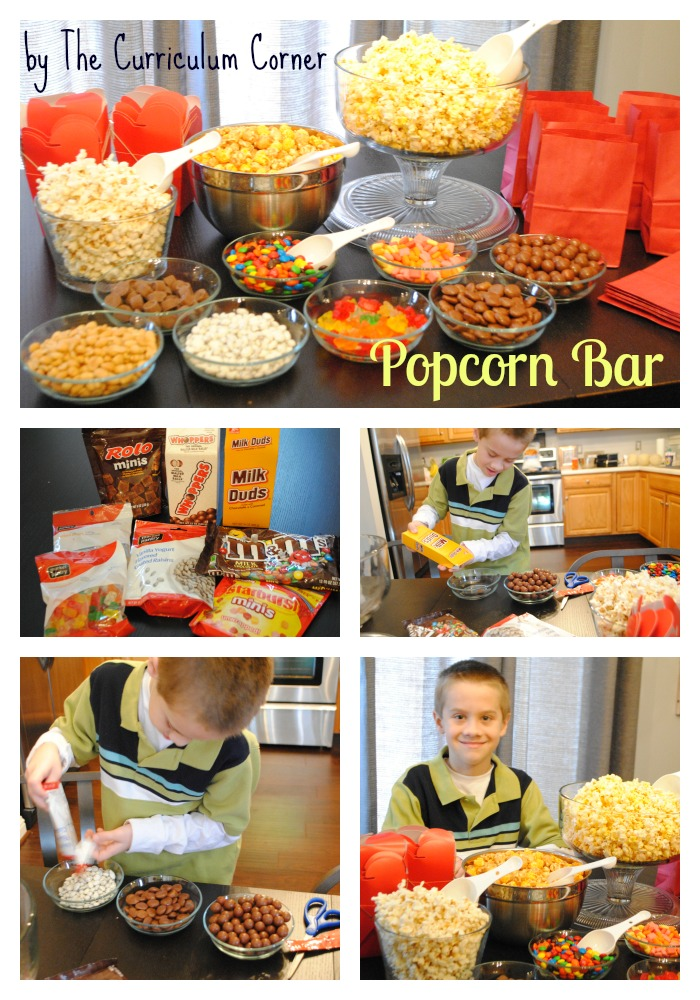 Popcorn Bar by The Curriculum Corner