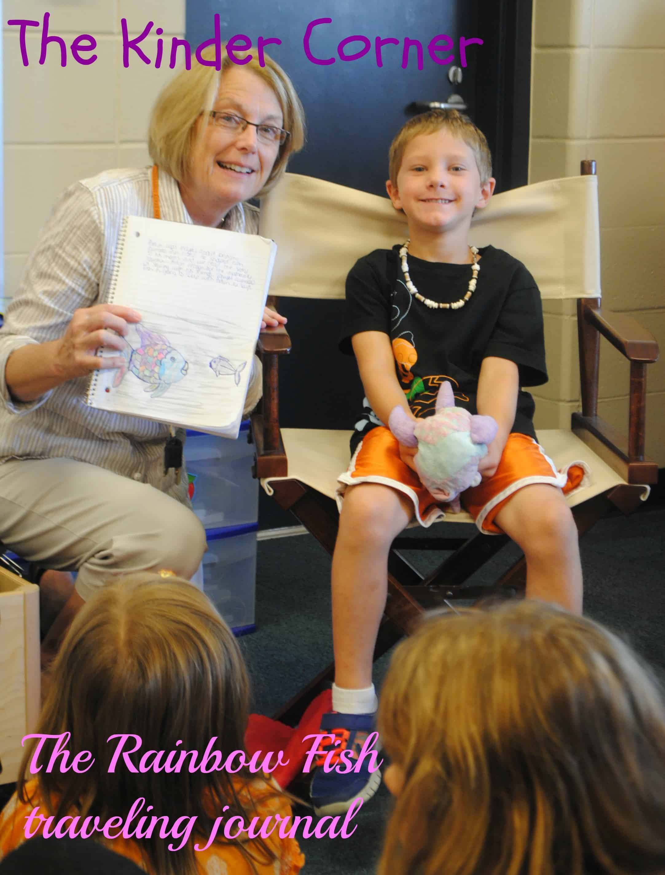 Julie Sewell Uses Rainbow Fish in Her Kindergarten Classroom