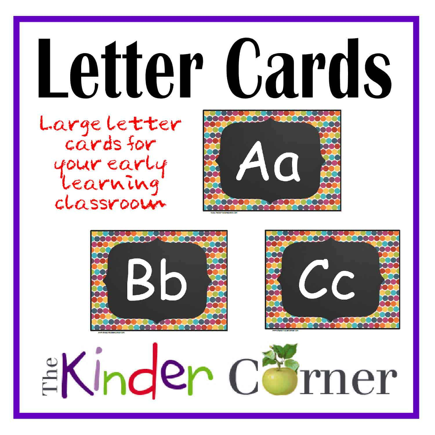 Large Letter Cards