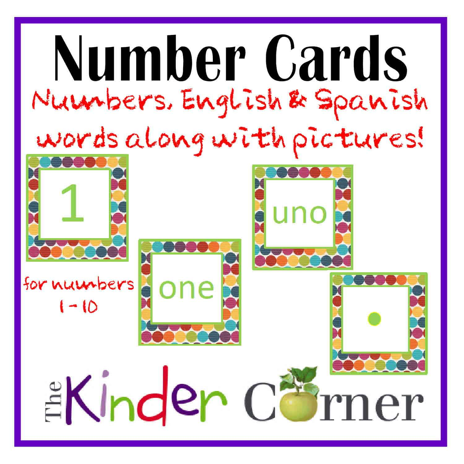Numbers in English to Spanish English And Spanish Too