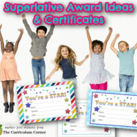 End of the year superlative awards