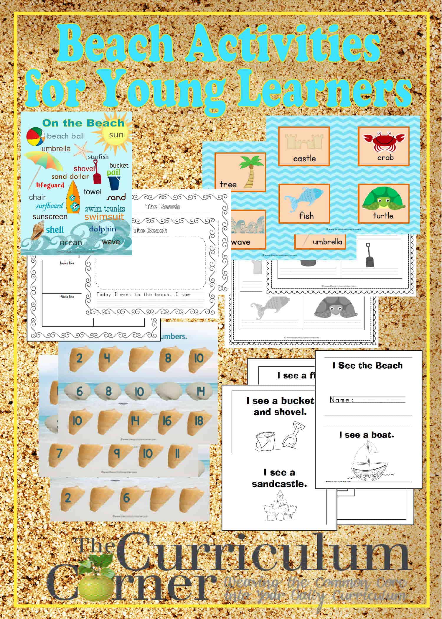 Beach Themed Activities for Young Learners