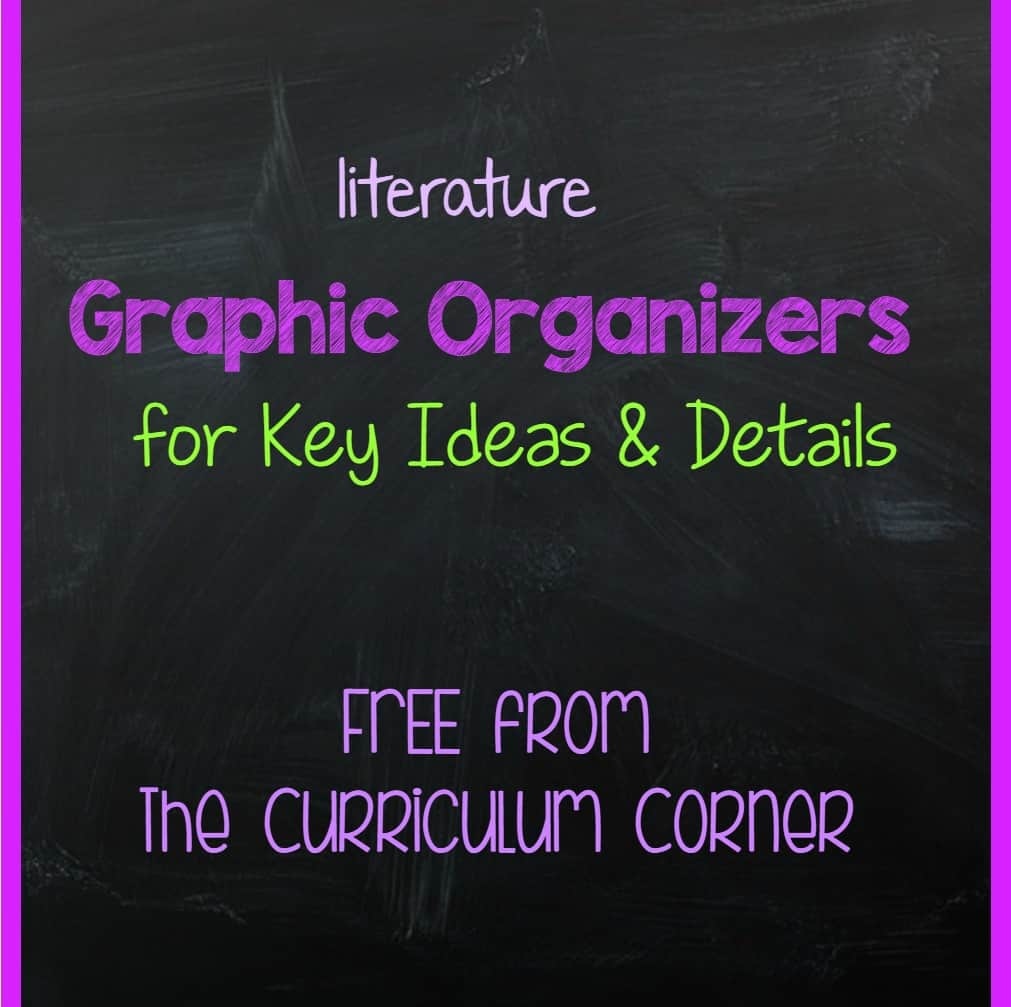 Graphic Organizers for Literacy