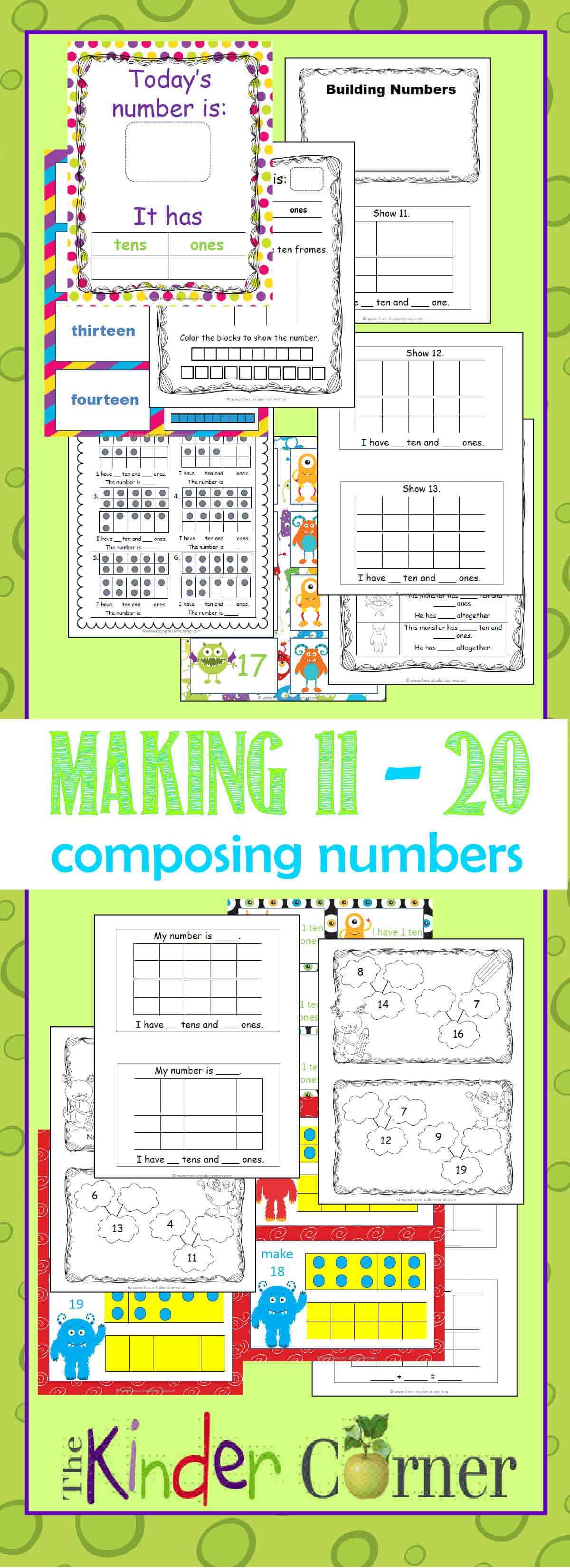Composing & Decomposing (11-20)