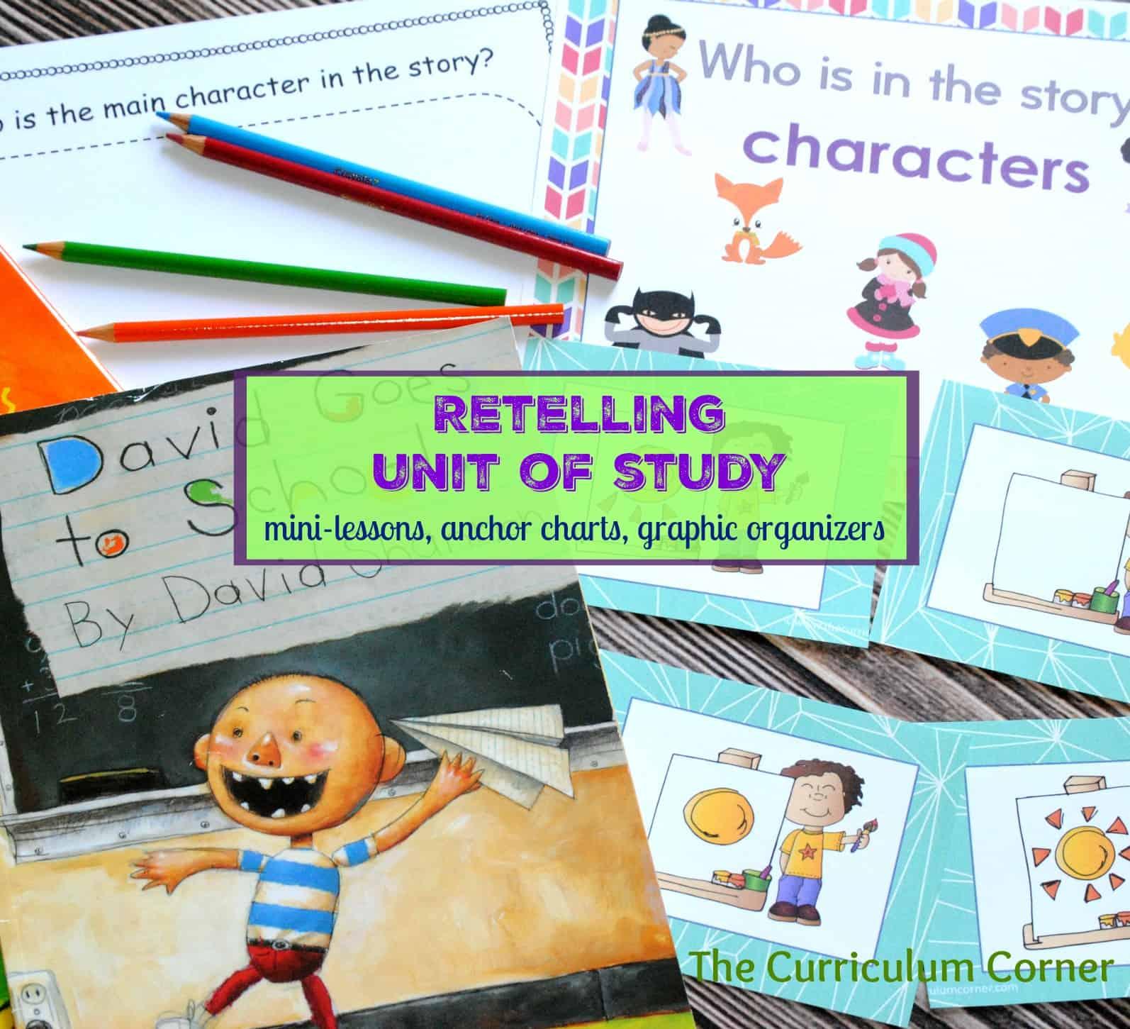 Retelling Unit of Study