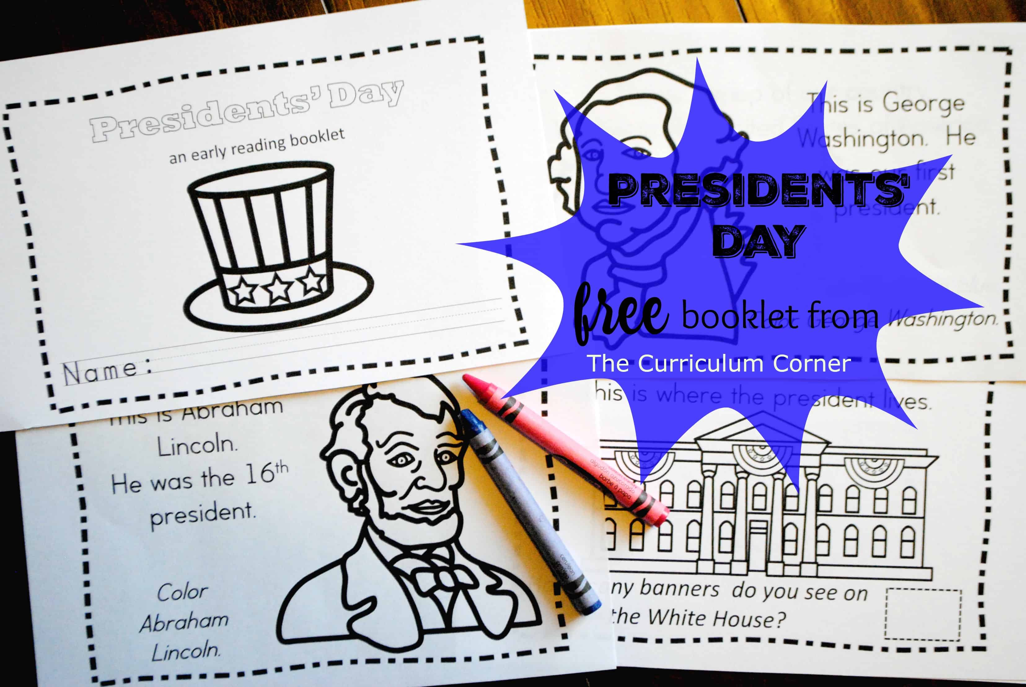 Presidents' Day Booklet