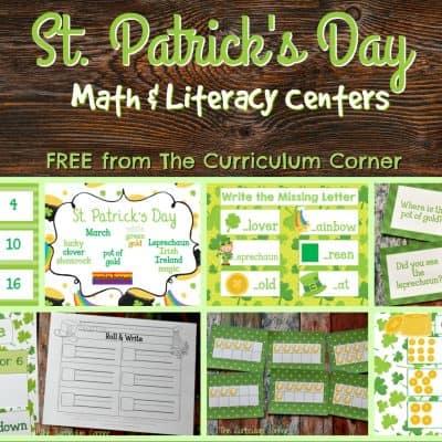 St. Patrick's Math & Literacy Centers